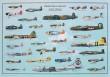 WORLD WAR 2 AIRCRAFT POSTER