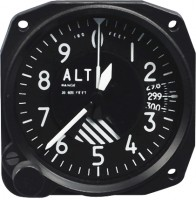 SWIFT ALTIMETER AND BAROMETERS 3 1//8 INCH 9-30 VDC 42000FT 3 POINTER ALT3-40F3