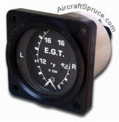 vdo cht gauge wiring diagram micro 1000 dual egt gauges pilotshop  micro 1000 dual egt gauges pilotshop